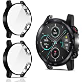 CAVN Custodia Protettiva Compatibile con Honor Magic Watch 2 46mm Custodia [2-Pezzi], TPU Custodia Flessibile Morbida Custodi