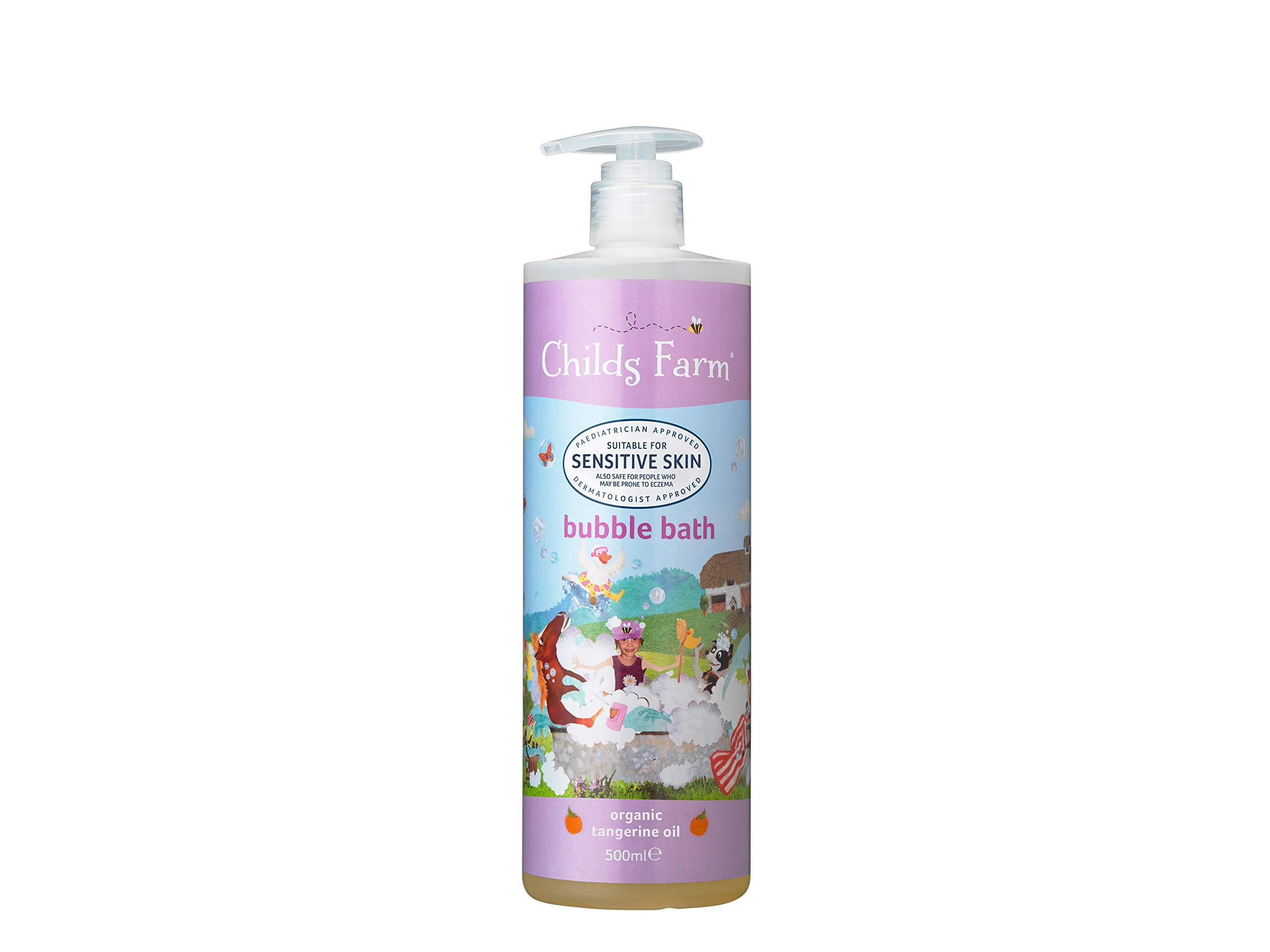 Childs Farm bubble bath organic tangerine 500ml