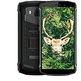 Blackview BV5800 Pro Outdoor Handy (2018), 5.5 Zoll 5580mAh Akku Wireless Charging, 16GB und TF 32GB, 13MP 8MP Kamera Robustes IP68 Smartphone, 4G Dual SIM Android 8.1, Stoßfest/wasserdicht- Grüne
