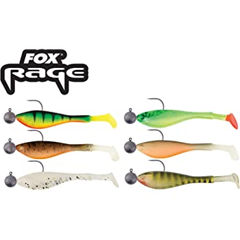 Fox Rage Loaded Mini Fry 7cm 5g Mixed Colours NSL1163 Gummifisch Gummifische