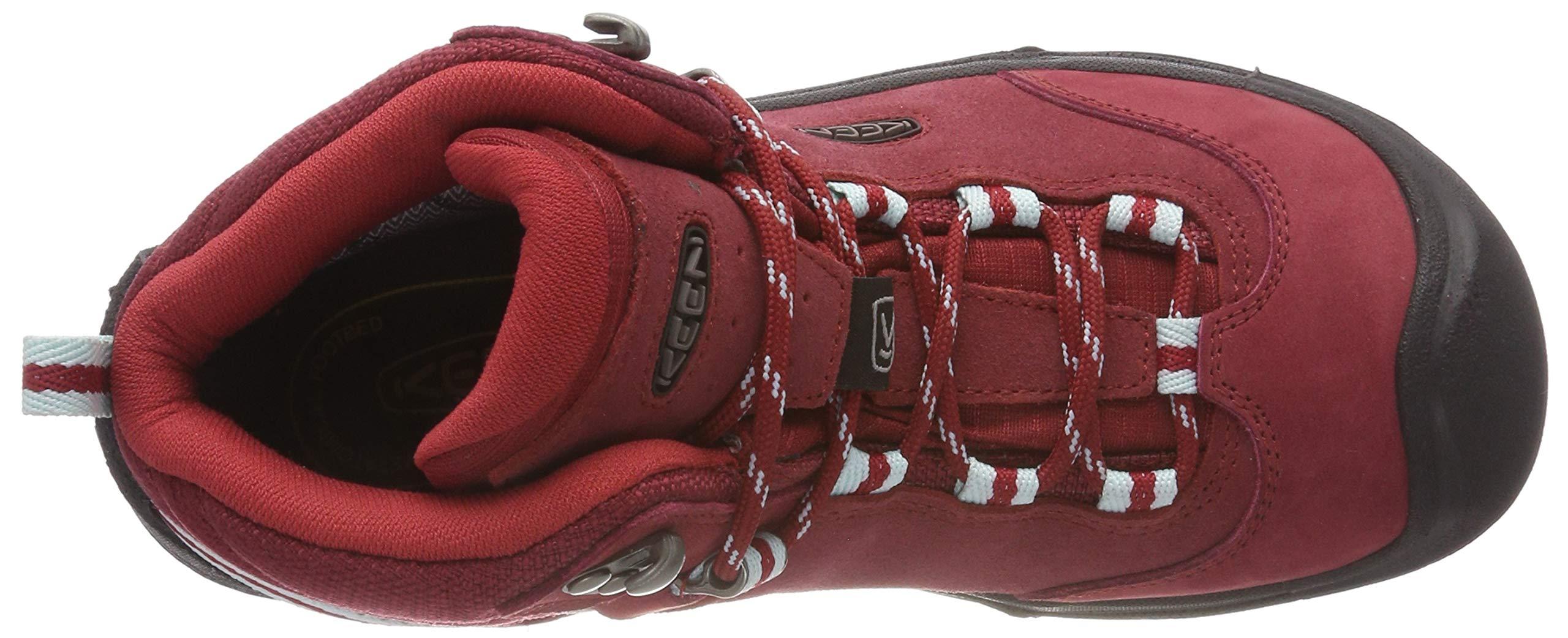 KEEN Women's Wanderer Waterproof Mid High Rise Hiking Shoes, 8.5 UK 7