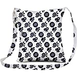 JEH BAGS Cotton Sling Bag - Foot Printed Messenger Cross Body Bag with Stylish Design and Distress Finish Capacity-4 LTR. 26