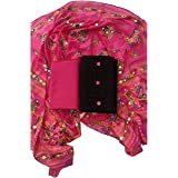 Sheetal Online Unstitched Cotton Dress Materials of 1 Top (White) 1 Bottom (Red) 1 Dupatta (Red)