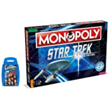Champion Dreams Limited Star Trek Monopoly and Top Trumps Card Game Bundle