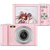 ZORNIK 2.7K Digital Cameras,Compact Camera 2.88 Inch LCD Rechargeable HD 44 Mega Pixels…