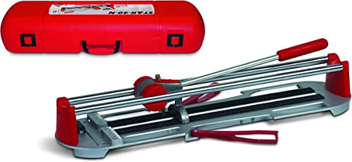 Rubi 12969 Steel Manual Tile-Cutter with Carrying Case for Ceramic and Vitrified Tiles (Red, 61 cm/24 inch/2ft.)