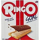 Pavesi Ringo Goal Biscotto con Ripieno al Latte e Copertura di Cioccolato per Snack Dolce e Gustoso per la Merenda, Confezion