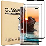 [2-Pack]Screen Protector for Sumsung Galaxy S10 Plus,Full Coverage HD Tempered Glass Anti-Scratch 9H Hardness Tempered Glass