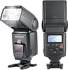Neewer® NW680/TT680 HSS Speedlite Flash E-TTL per Canon 5D MARK 2 6D 7D 70D 60D 50DT3I T2I e altre Fotocamere DSLR Canon