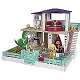 Mymy City- Holiday House, Casita de muñecas amueblada, para niños y niñas a partir de 3 años, (Famosa 700015599) , color/mode