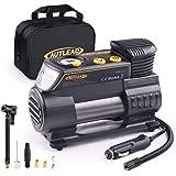 AUTLEAD C2 Compresor Aire Coche, 12V Auto Inflactor Ruedas Coche Embalado, Inflador Electrónico con Conector Rápido, Manómetr