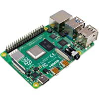 Raspberry Pi 4 Modell B; 4 GB, ARM-Cortex-A72 4 x, 1,50 GHz, 4 GB RAM, WLAN-ac, Bluetooth 5, LAN, 4 x USB, 2 x Micro…