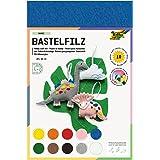 Folia 520409 - Vilt 20 x 30 cm, 150 g, 10 vellen verschillende kleuren