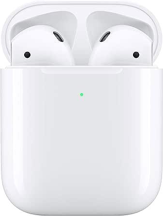 Apple AirPods con custodia diricarica wireless (seconda generazione)