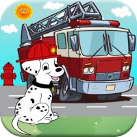 Fireman Patrol Academy & Paw Rescue Firetruck Games For Kids Free