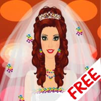 Mode de mariée jeu d'habillage