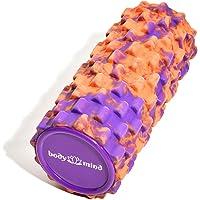 Body & Mind Faszienrolle Massage-Rolle Fitnessrolle Sportrolle Therapierolle für effektive Selbstmassage und Faszien-Training