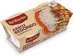 Brillante Arroz Redondo, 2 x 125g