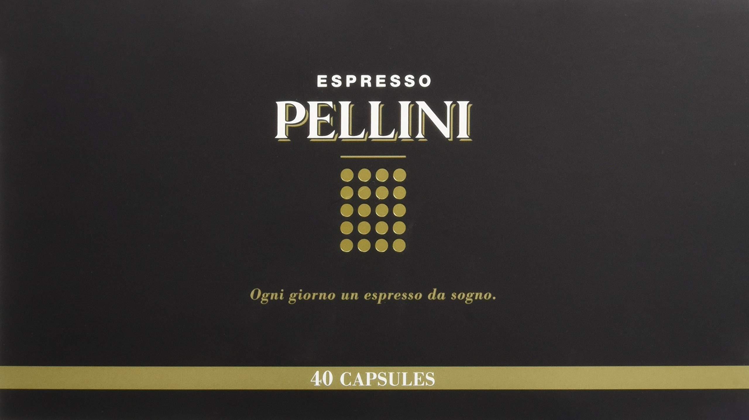 Pellini Caffè - Espresso Pellini Confezione Gift Box (mix multigusto da 40 Capsule), Livello di tostatura Medio… 1 spesavip