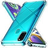 Ferilinso Funda para Samsung Galaxy M30S, M21 [Transparente TPU Silicona Carcasa] [10X Anti-Amarilleo] [Compatible con la Cri