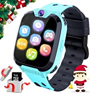 Kids Smartwatch Phone for Girls Boys - Children Touch Phone Wrist Watch with SOS Call Voice Intercom Camera Flashlight Voice
