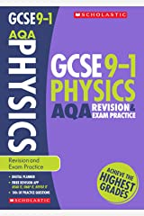 GCSE Physics AQA Revision Guide and Practice Book. Perfect for Home Learning and includes a free revision app (Scholastic GCSE Grades 9-1 Revision and Practice) Paperback