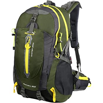 10fd7517f6ce Vbiger 40L Hiking Backpack Outdoor Casual Dayapck Large-Capacity Trekking Backpack  Travel Shoulder Backpack for Men and Women Mountain Climbing