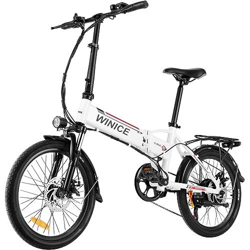 Vivi Bici Elettrica Pieghevole, 20 Pollici Bicicletta Elettrica 250W Ebike Città, Bici Elettriche per Adulto con Batteria Rimovibile agli Ioni di Litio da 36V 8Ah, Shimano a 7 velocità