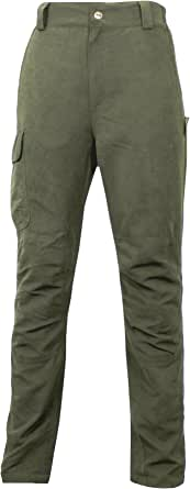 Game Mens Waterproof Aston Pro Hunting Trousers | Green HB320
