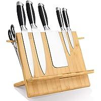 Leader Accessories Bloc à Couteaux magnétique avec Double Face Fortement magnétique,Rangement Couteau De Cuisin, Range…