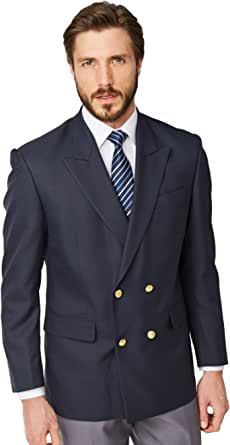 Chums   Mens   Double Breasted Oxford Blazer  