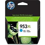 HP 953XL F6U16AE Cartuccia per Stampanti a Getto di Inchiostro, Compatibile con OfficeJet Pro 8710, 8715, 8718, 8720, 8725, 8