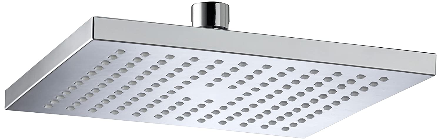 Bristan FHC ABSQ01 C 200mm ABS Square Fixed Head - Chrome Plated ...
