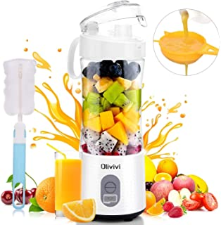 Portable Blender, Willnorn 4000mAh USB Rechargeable Battery