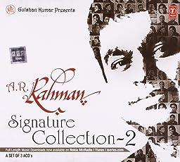 A.R Rahman Signature Collection- 3 CD SET