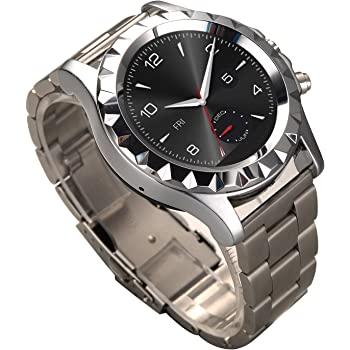 Bingo C1 Silver Smartwatch With Removable Strap Support Bluetooth