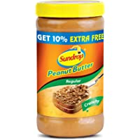 Sundrop Peanut Butter,Crunchy , 462g with Free 46g