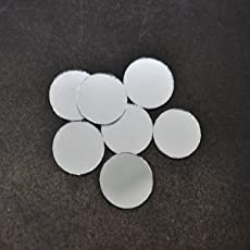 Embroiderymaterial Shisha Mirrors For Embroidery And Craft Purpose, Round Shape, 2Cm, 100Pcs