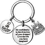 KENYG Porte-clés pour 13, 16, 18, 21, 30, 35, 40, 45, 50, 55, 60 et 70 ans de mariage - Souvenir d'affaires et d'anniversaire