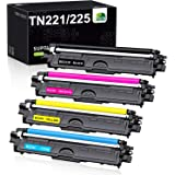JARBO TN221 TN225 Compatible Toner Cartridge Replacement for Brother TN-221 TN-225, for HL-3140CW HL-3170CDW HL-3180CDW MFC-9