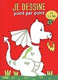 Point par point progressif: Le dragon 1 à 50 - Dès 5 ans