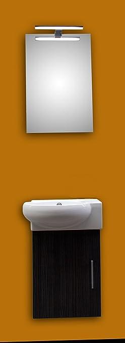 Gäste WC Set GUEST ONE: Keramikwaschtisch, Unterschrank und ...