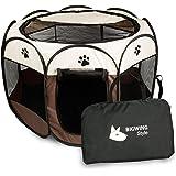 BIGWING Style Recinzione per cuccioli - Grande recinto per animali da usare all'interno e all'esterno per cani, gatti…