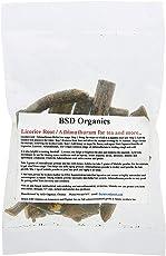 BSD Organics Licorice Root/Athimathuram for tea and more. - 100 G