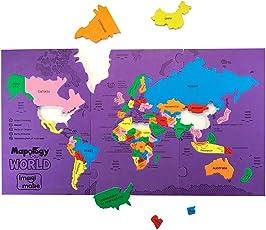 Imagimake Mapology World Educational Toy And Learning Aid Jigsaw Puzzle