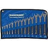 Silverline SP50 ringskiftnyckel, 14 st. sats 8–24 mm