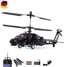 4 Kanal 2.4GHz RC ferngesteuerter Apache AH-64 Militär Modell-Hubschrauber,Komplett-Set RTF