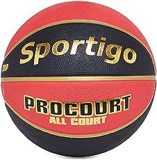 Sportigoo Procourt Imported Basketball - Red/Black