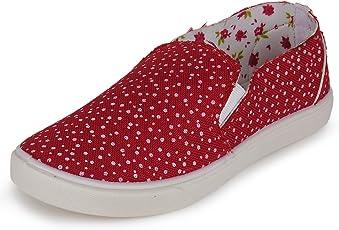 Scantia Women's Canvas Casual Shoes