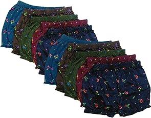 Eraa Boy's,Girl's Printed Bloomer_Assorted Colors_(Pack Of 10)